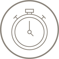 fast acting results icon